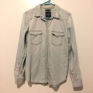 American Eagle Outfitters Tops - American Eagle denim long sleeve